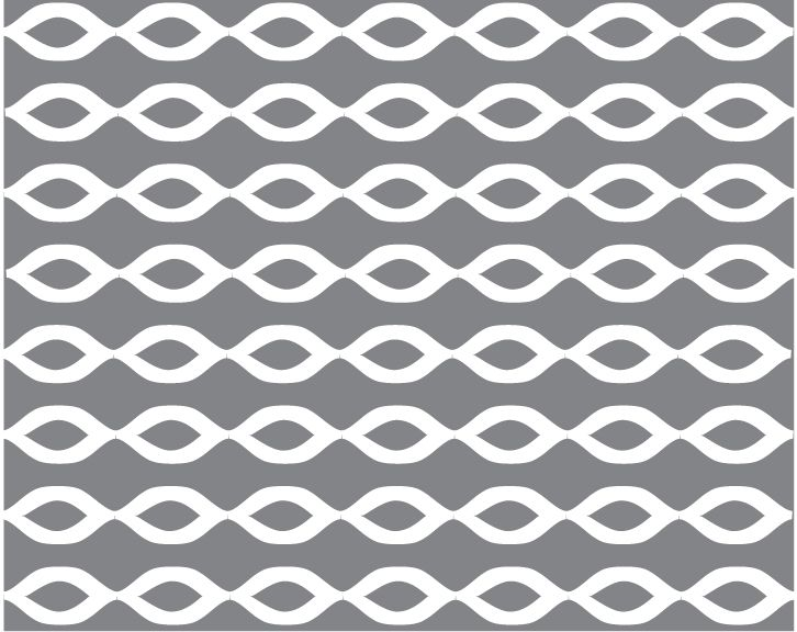Loops - Gray and White