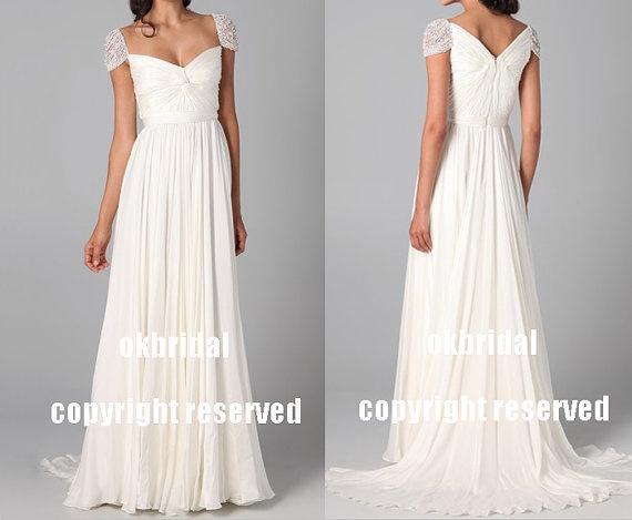 white prom dresses long prom dress formal prom dress by okbridal