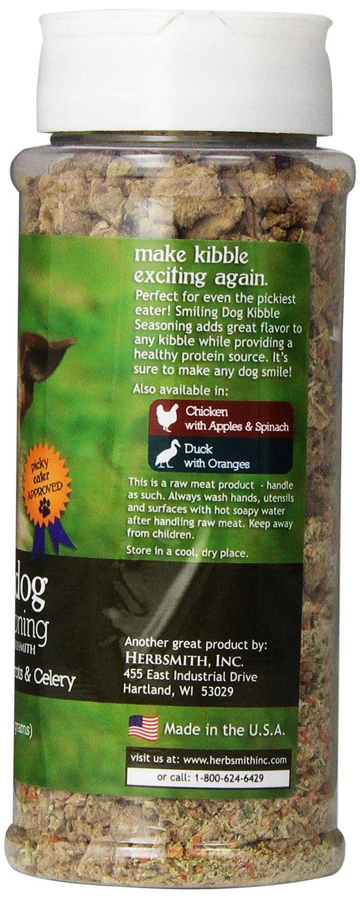 Herbsmith Smiling Dog Freeze Dried Kibble Seasoning with