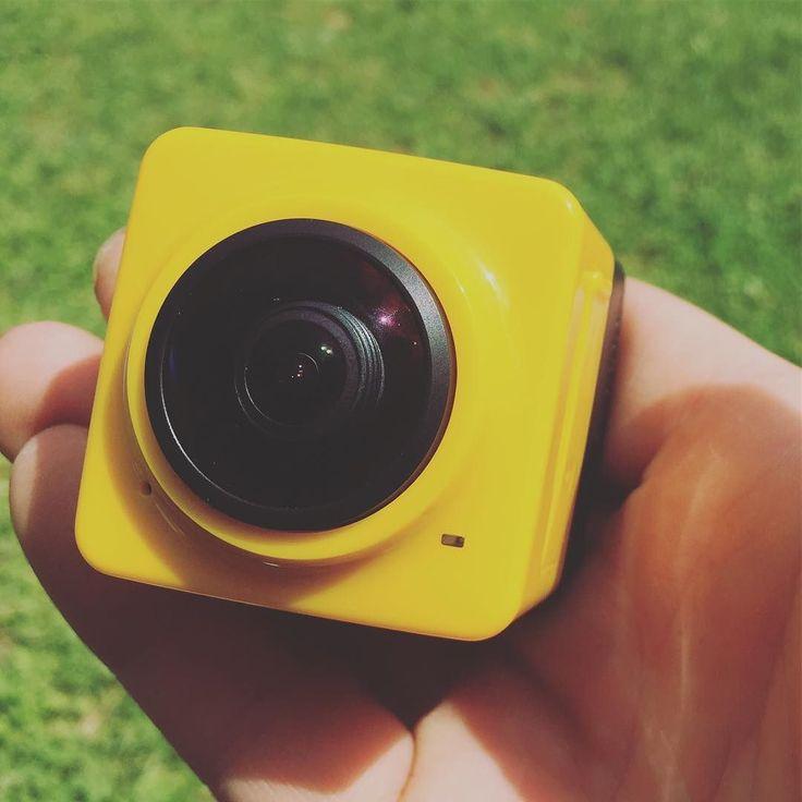 Du nouveau au banc de test du domo-lab pour la rentrée une camera sportive 360 1080p  #commingsoon #test #sport #camera360 #1080p #hd #domoblog #domolab