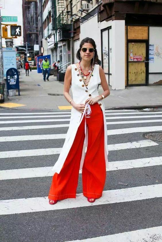 16c46c51203 Comment porter la tenue rouge et blanc