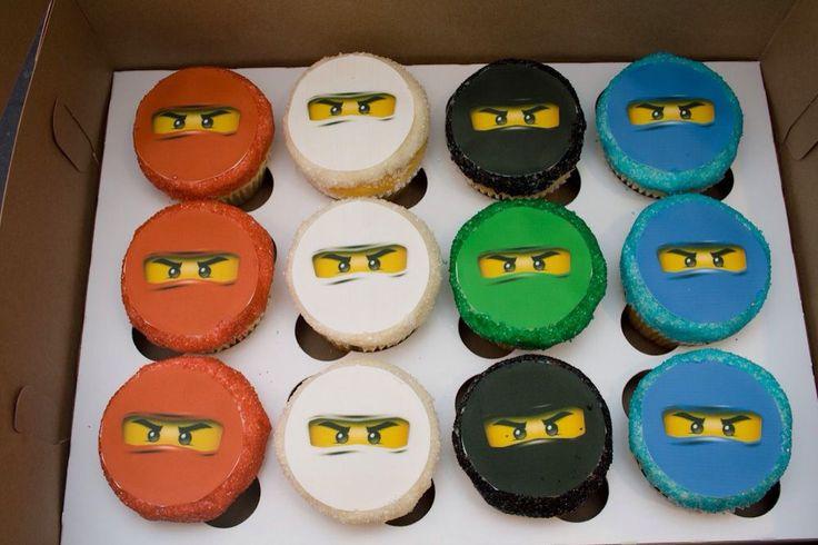 Lego Ninjago Cupcakes