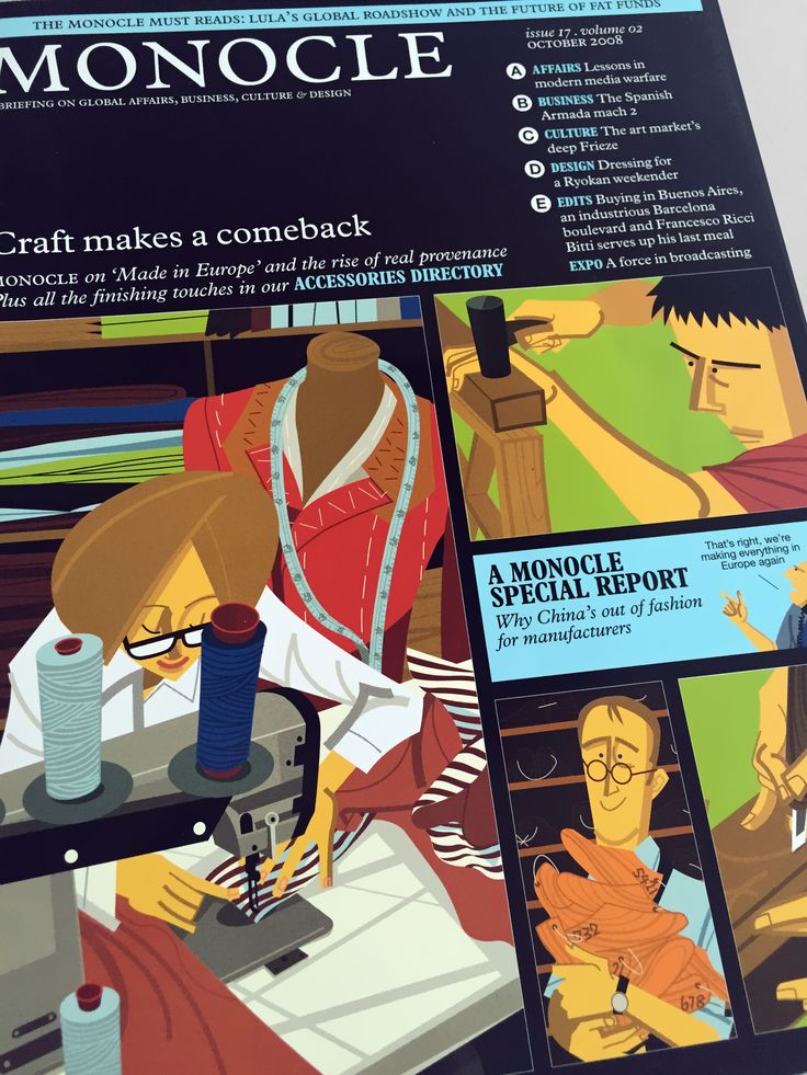 Monocle Craft Issue www.dutchuncle.co.uk/gaku-nakagawa