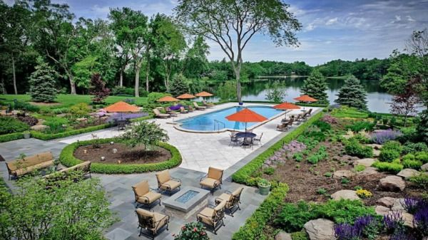 17 best images about luxury homes of the chicago suburbs for Pool show lyon