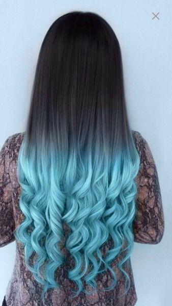 Curly Hair Blue