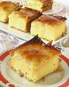 Galaktoboureko este un desert traditional grecesc foarte cunoscut si apreciat.