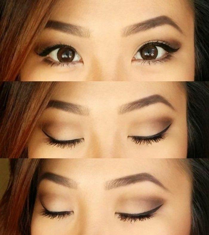 Les 25 meilleures id es concernant maquillage asiatique sur pinterest yeux charbonneux - Comment bien se maquiller les yeux ...