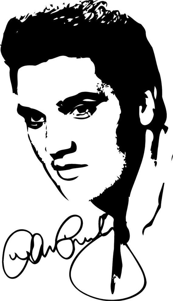 Elvis Crochet Graphghan Pattern by ToviaSilhouettes on Etsy