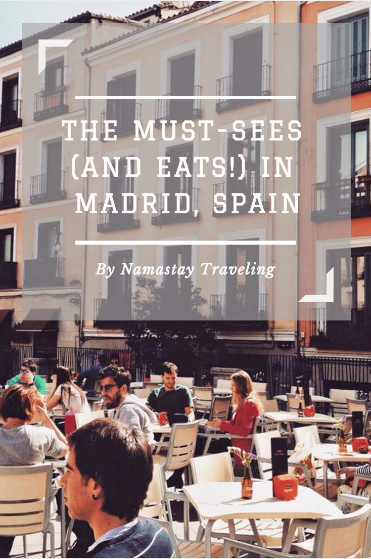 The must sees, dos and eats in Madrid, Spain. Everything you need to know when visiting Spain!