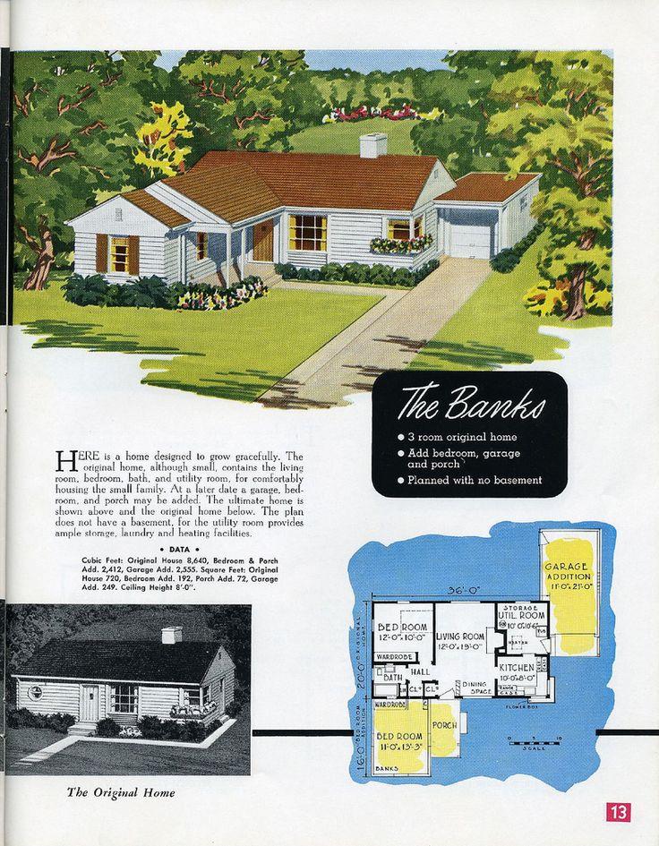 133 best Mid-Century House Plans images on Pinterest | Mid century ...
