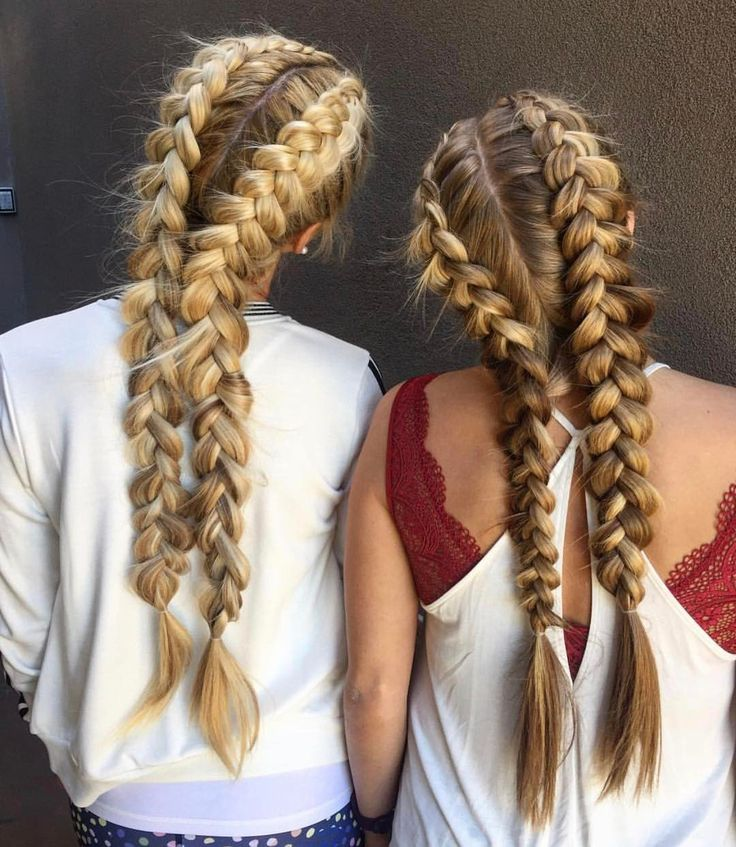 """2,054 Likes, 27 Comments - 🎀 Your Braids 🎀 (@yourbraids) on Instagram: """"Who doesn't want to match with their best friend! ❤ Tag yours! 👭"""""""