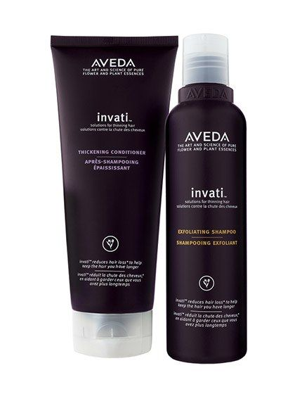 2016 Readers' Choice Award-Winning Natural Products: Aveda Invati Exfoliating Shampoo and Aveda Invati Thickening Conditioner | Allure.com