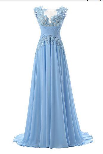 New Prom Dress,chiffon Prom Dresses,Long Evening Dress,Sexy