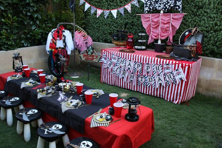 Party Essentials for a swash-bucklin' Pirate Party - Lifes Little Celebration