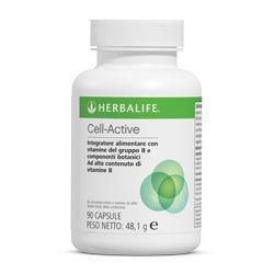 Cell Active: contiene una speciale formulazione con vitamine B zinco, manganese e rame che contribuiscono al normale metabolismo energetico.Con estratti e componenti botanici.Supporto per la protezione dallo stress ossidativo. Una capsula tre volte al giorno. Per info: http://www.goherbalife.com/elenadellavella/it-IT