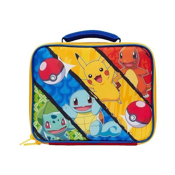 Pokemon Lunch Box ($8.09) ❤ liked on Polyvore featuring home, kitchen & dining, food storage containers, red, lunch box and pokemon lunch box