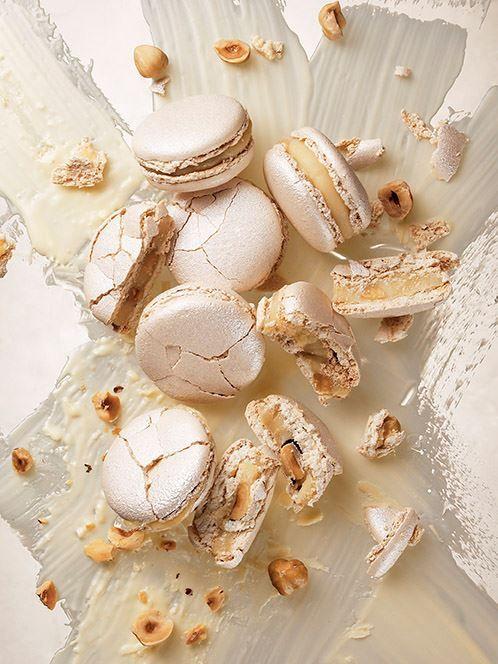 Macarons truffe blanche et noisettes  Pierre Hermé