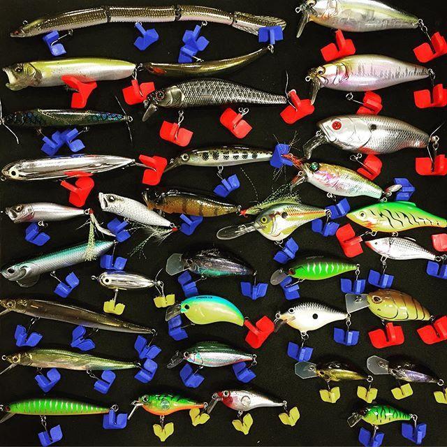 LURES #bassfishing #bass #megabass #megabasslures #deps #rapala #osp