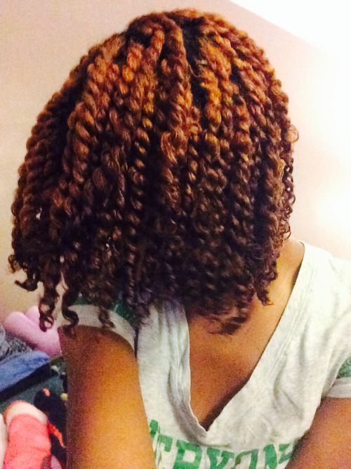 Beautifully colored twists