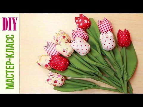 Цветы из Лент / Из Лент Своими Руками / Атласные Цветы / Канзаши Мастер Класс / Satin Flowers - YouTube