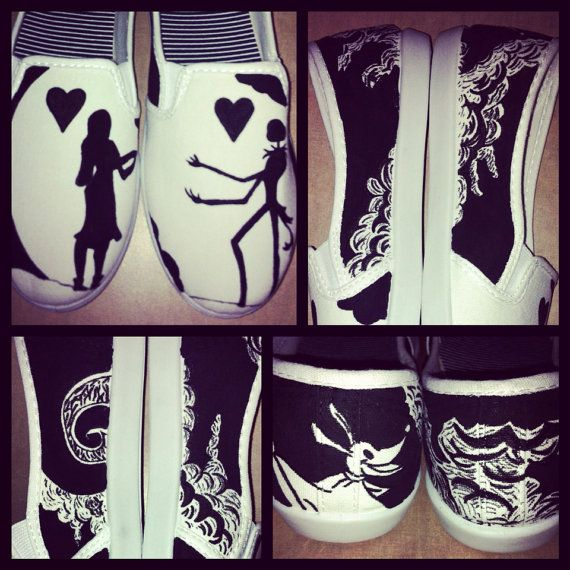 Hey, I found this really awesome Etsy listing at http://www.etsy.com/listing/155417365/nightmare-before-christmas-painted-shoes