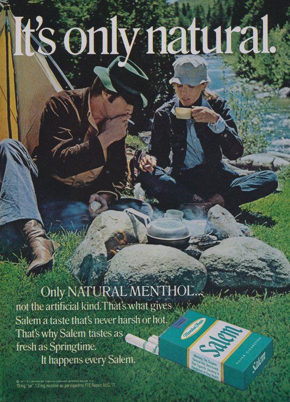 vintage salem cigarette magazine ads