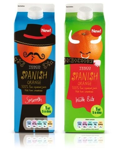 Spanish Orange Juice design by PW