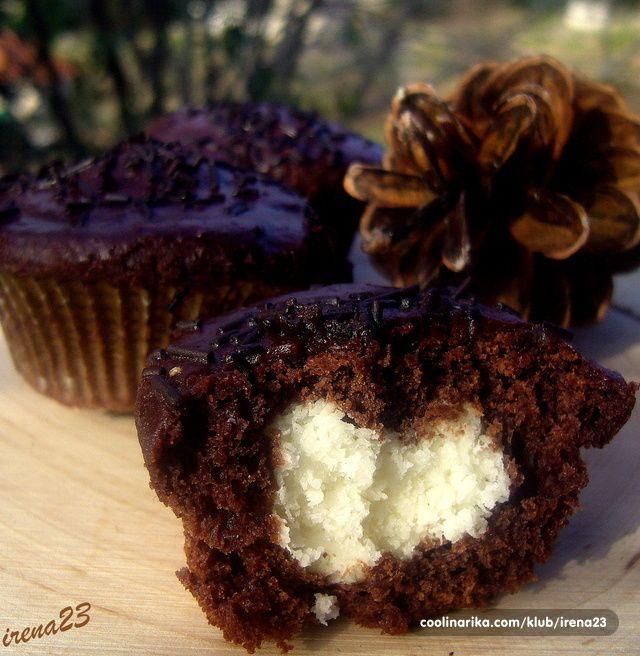 Muffini sa srcem od kokosa