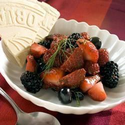 Salada de frutas silvestres @ allrecipes.com.br
