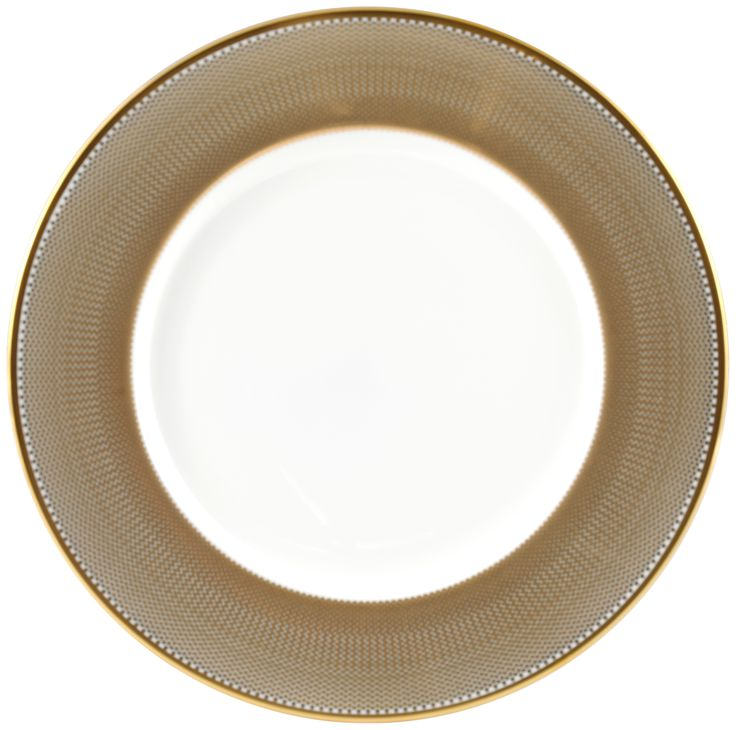 """10"""" 'Benday Gold' Beautiful Dinner Plate perfect for a luxury dining experience. Complimented with 22kt Gold rims and accents, this luxury range provides a touch of class and elegance. Hand made in Stoke-on-Trent, England, this collection is inspired by Benjamin Day: 'our homage to the dot'. Handwash Only, Fine Bone China. Find out more here: https://thenewenglish.co.uk/collections/benday-gold  #TheNewEnglish #Benday #Gold"""