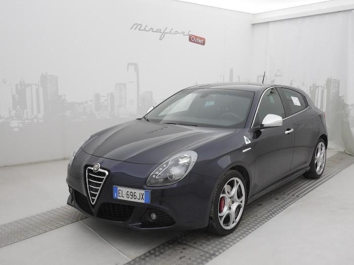 Alfa Romeo Giulietta 1.75 TBI 235 CV Quadrifoglio Verde, Blu Profondo, a 19.900 €. #alfaromeo #lanostravetrina #imperdibili #autousate