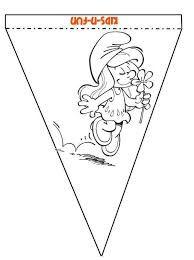 Afbeeldingsresultaat voor de smurfen knutsel
