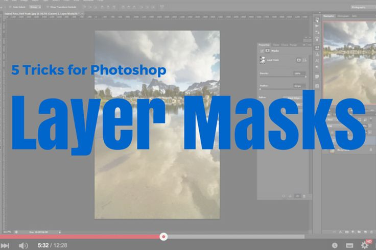 5 Photoshop Layer Mask Tricks – Video Tutorial