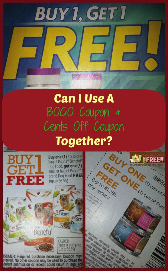 FAQ About Coupons: Can I Use A BOGO Coupon And A Cents Off Together? - Grocery Shop For FREE!!