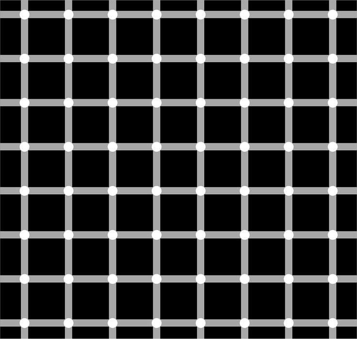 Сетка Германа: можно ли увидеть то, чего нет?   Оптические иллюзии - не просто развлекающие картинки, изучение особенностей зрительного восприятия этих необычных изображений позволяет ученым лучше понимать принципы действия нашего мозга, узнавать о его работе что-то новое. Одной из наиболее любопытных иллюзий можно назвать сетку, открытую в 1879 году немецким физиологом Людимаром Германом, представляющую из себя темный квадрат, разлинованный белыми линиями. На стыках сетки явно…