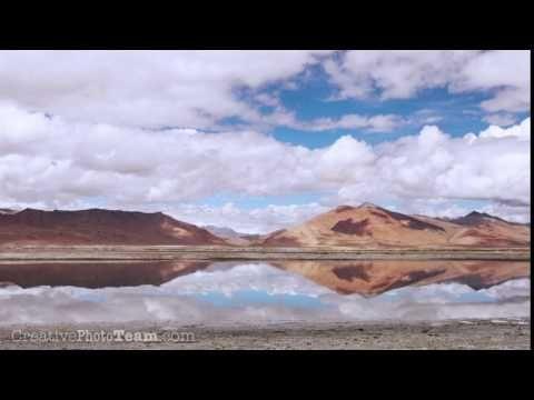 Tso Kar lake. India. Altitude above the sea level is 4 530 metres. Canon 5D Mk II Timelapse - YouTube