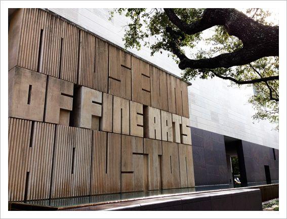 Edifício Audrey Jones Beck, Museu de Belas-Artes - Houston, EUA