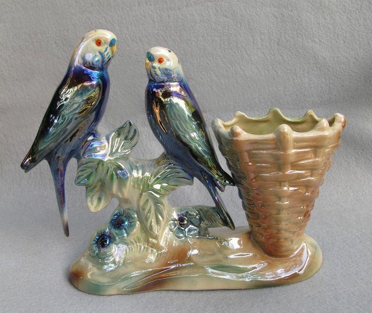 Jema Holland Luster Parakeet Planter