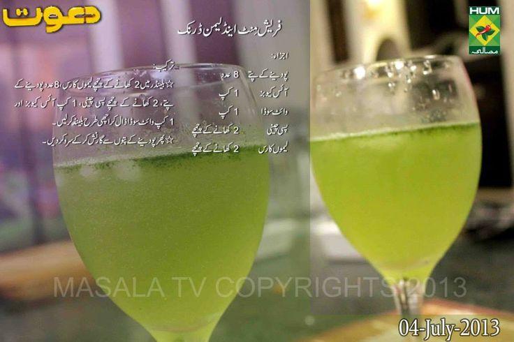 Fresh Mint Drink Recipes