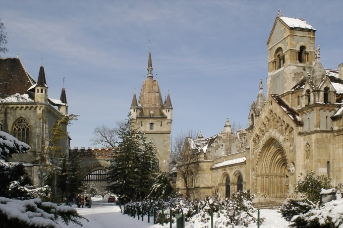 Castle of Vajdahunyad (pron. wai-da-hun-yad) #Hungary #Europe #EasternEurope…