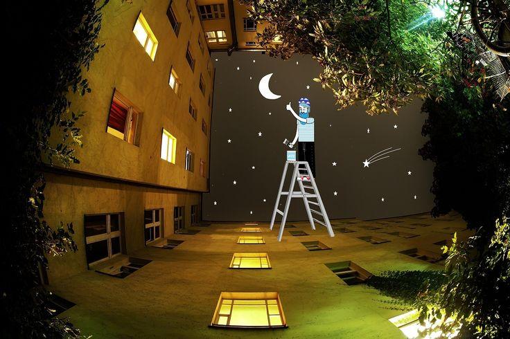 Illustrator Thomas Lamadieu Continues to Imagine the Strange Inhabitants Living in the Sky Between Buildings