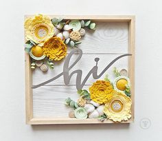 I have 3 of these to share with you for the mini restock next week Thursday. They all coordinate with the 3 tin decor pieces I just posted too. #hi #welcomedecor #homedecor #yellowflowers Mary Monds