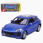 Bburago 1:24 Porsche Macan Diecast Model Car Toy New Blue #Diecast
