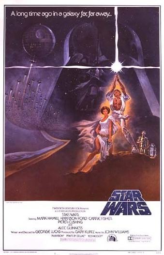 1977 Star Wars Original US Style A Film Poster. £750 at Vintage Seekers.