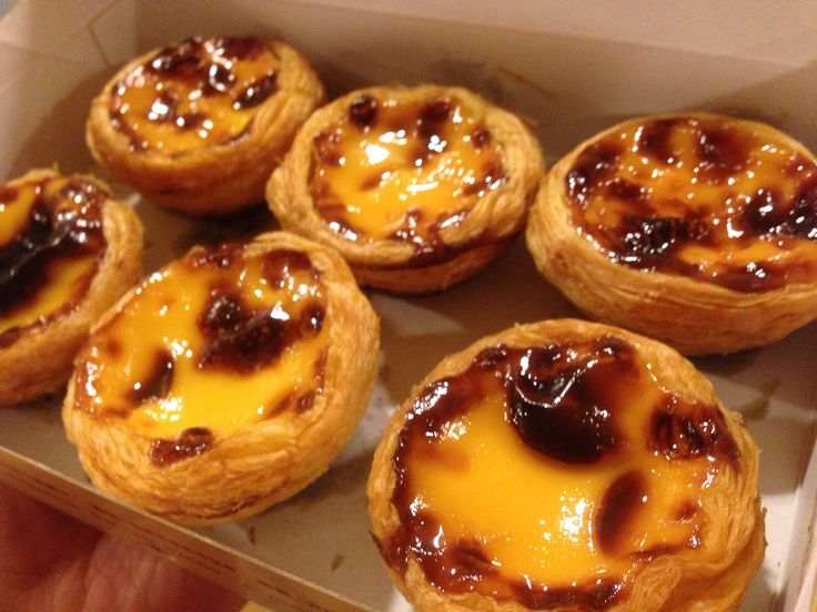 Portuguese tarts Lord Stow's bakery – Macau | TALES OF A CONFECTIONIST