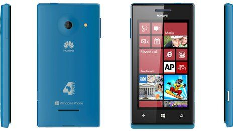 Huawei launches Windows phone in Africa