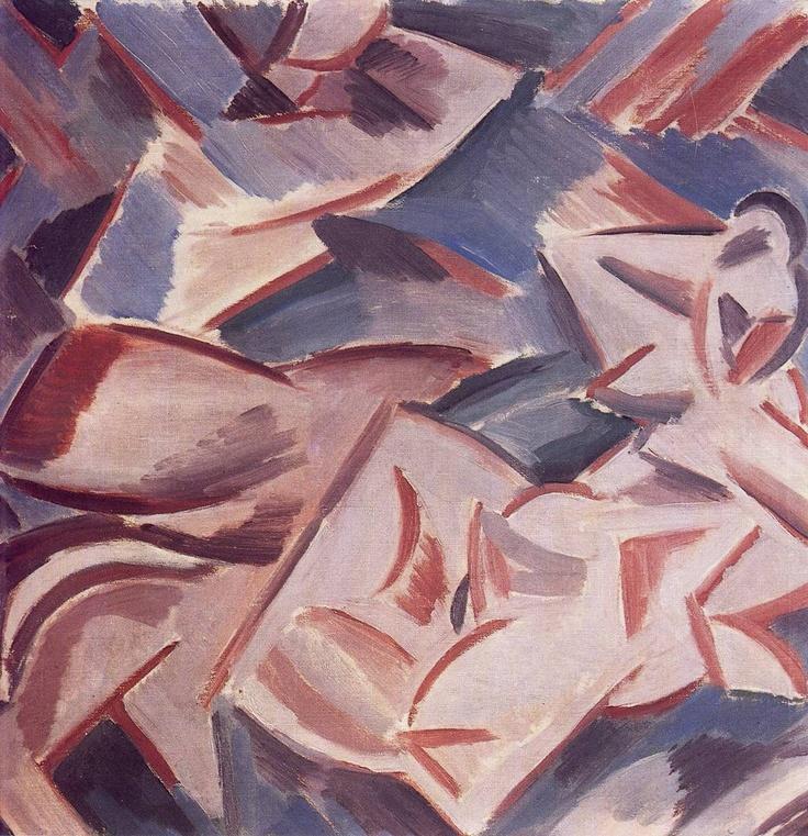 Václav Špála - Duha / Rainbow, 1913