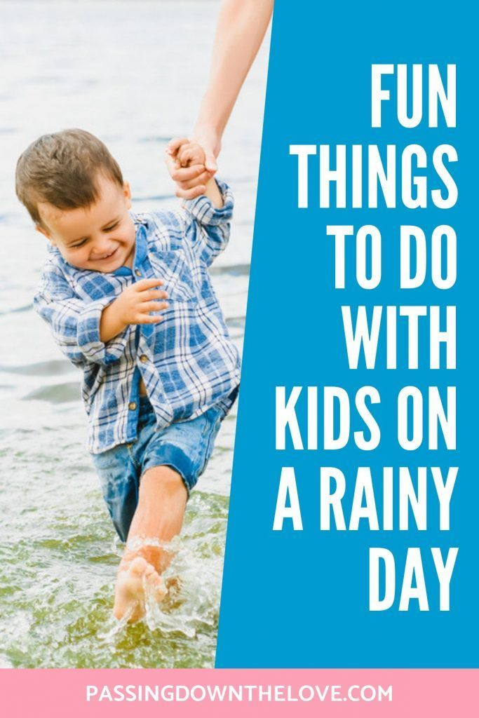 Rainy days can be fun, too! – ♥GRANDKIDS Galore♥