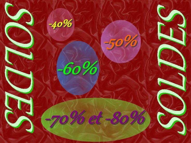 Suite a un problème technique le site n'était plus accessible, vous n'avez donc pas pu profiter de l'ouverture des soldes hier! en compensation , un code promo est disponible et il vous fera bénéficier de 10% supplémentaire sur votre commande à partir de 10€ d'achat pour en profiter tapez SUPPSOLDES10 dans votre panier!  Les soldes chez Mariage-décor c'est de -40% à -80% et c'est maintenant!!!  www.promo-mariage-decor.com