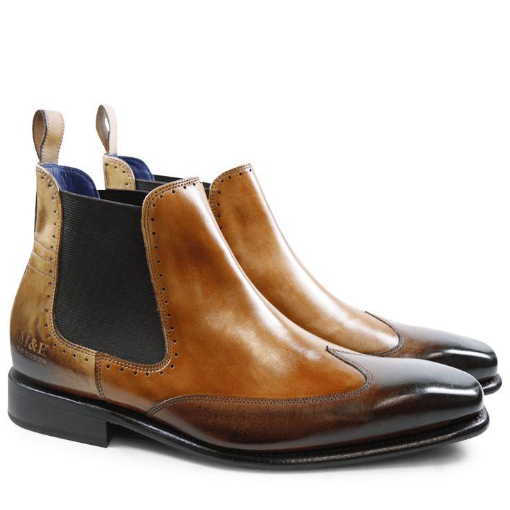 Stanley 3 Norway Wood Tan Sand Elastic Brown LS / Melvin & Hamilton · Mens  Smart BootsMen's ...